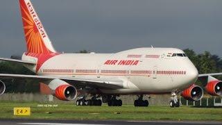 *Rare* Air India B747 Landing Dublin Airport
