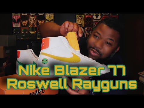 Nike Blazer 77 Roswell Rayguns Review + On Feet!