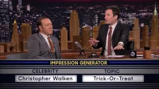 Kevin Spacey Impersonating Christopher Walken on Jimmy Fallon