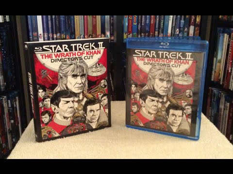 Star Trek II: The Wrath of Khan: Director's Cut - Blu Ray Unboxing and Review Mp3