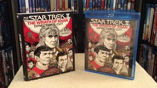 Star Trek II: The Wrath Of Khan: Director's Cut - Blu Ray Unboxing And Review