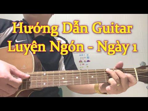 🔴[Trực tiếp] Ngày 1 Học Online Guitar Đệm Hát Cấp Tốc