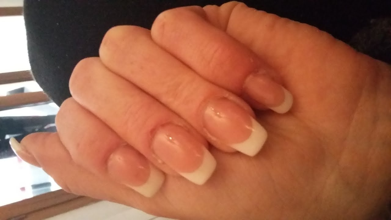 Good French Sur Ongles Courts #10: Tuto : Pose Gel Uv Sur Ongle Rongé, French Et Cover