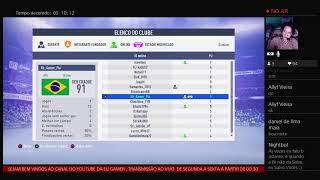 JOGANDO COM OS INSCRITOS DO YOUTUBE - ELI GAMER - FIFA 19 - PLAYSTATION 4