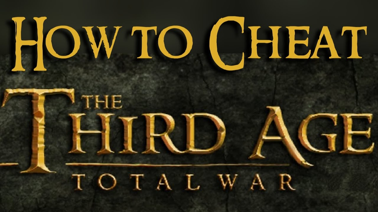 HOW TO CHEAT properly in THIRD AGE total war (adding units, adding  population,   )