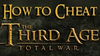 Repeat youtube video How to cheat properly in THIRD AGE total war (adding units, adding population,...)