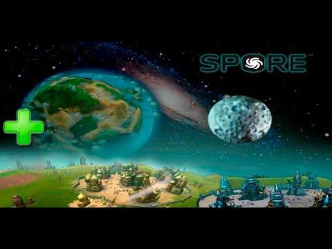 Космическая РПГ - Spore 2009 создавай свою существо и развивай цивилизацию