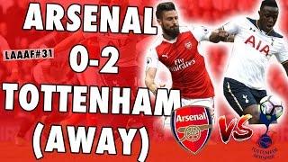 EMBARRASSED AT WHITE HART LANE😭 !!! Tottenham 2-0 Arsenal Reaction ► Life As An Arsenal Fan #31