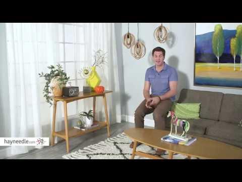 belham living darby mid century modern sofa table pecan finish rh youtube com