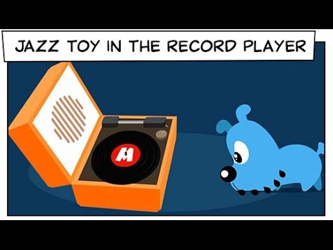Monica Toy | Jazz Toy In The Record Player  (S02E25)