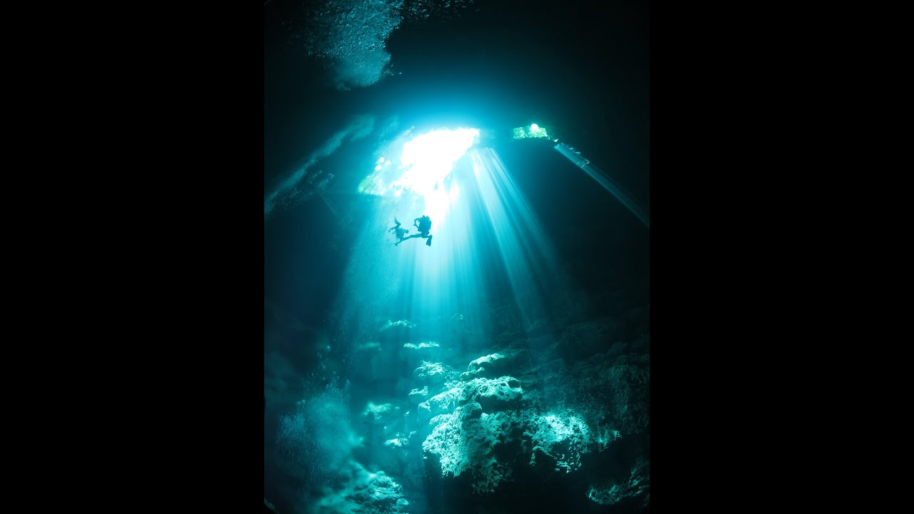 Default Iphone 7 Wallpaper Cenote The Pit Cave Dive In M 233 Xico Youtube
