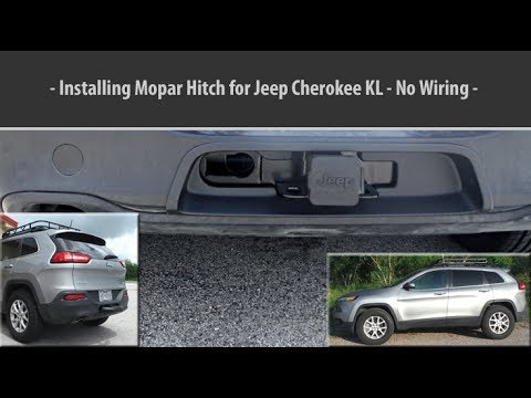 Installing Mopar Trailer Hitch Jeep Cherokee Kl 2014 Youtube Rh Youtube Com  2014 Jeep Grand Cherokee Hitch Wiring 2000 Jeep Cherokee Hitch Wiring