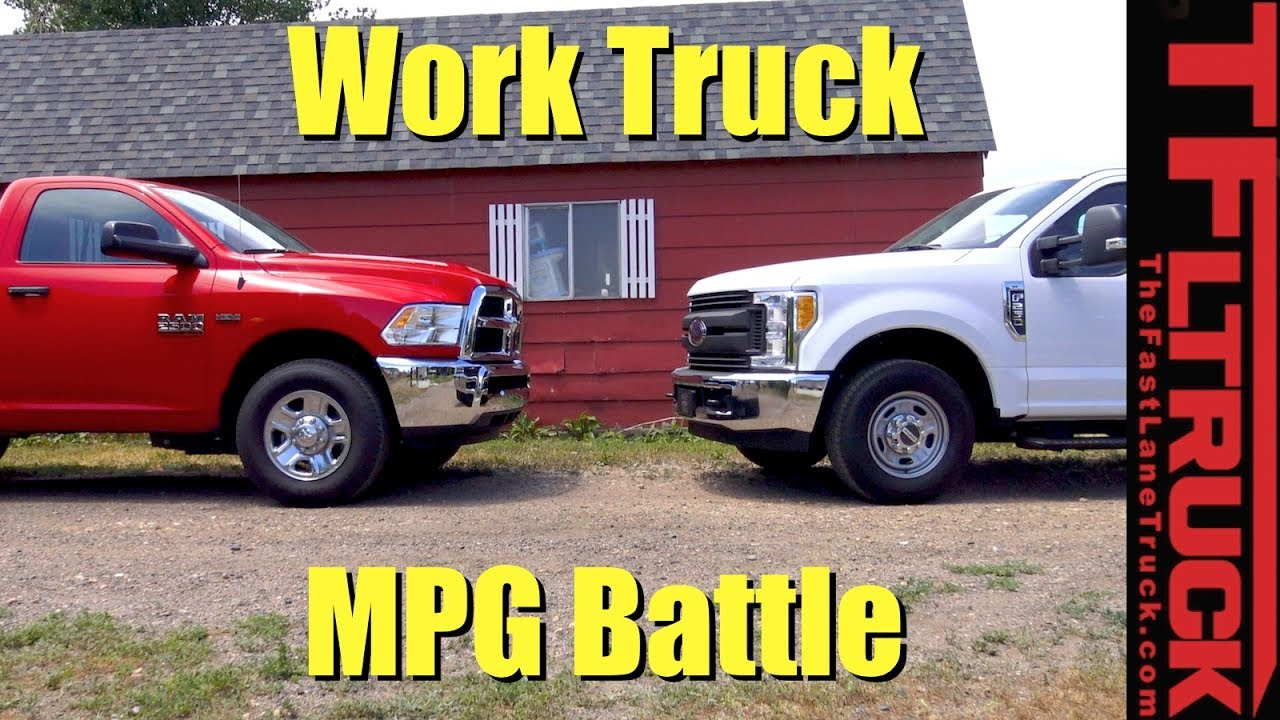 Ford F250 Vs Ram 2500 Which Hd Work Truck Is The Mpg Champ