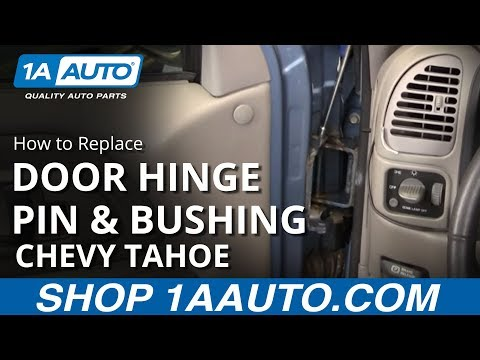 How to Replace Door Hinge Pin & Bushing Kit 1995-1998 Chevy Tahoe