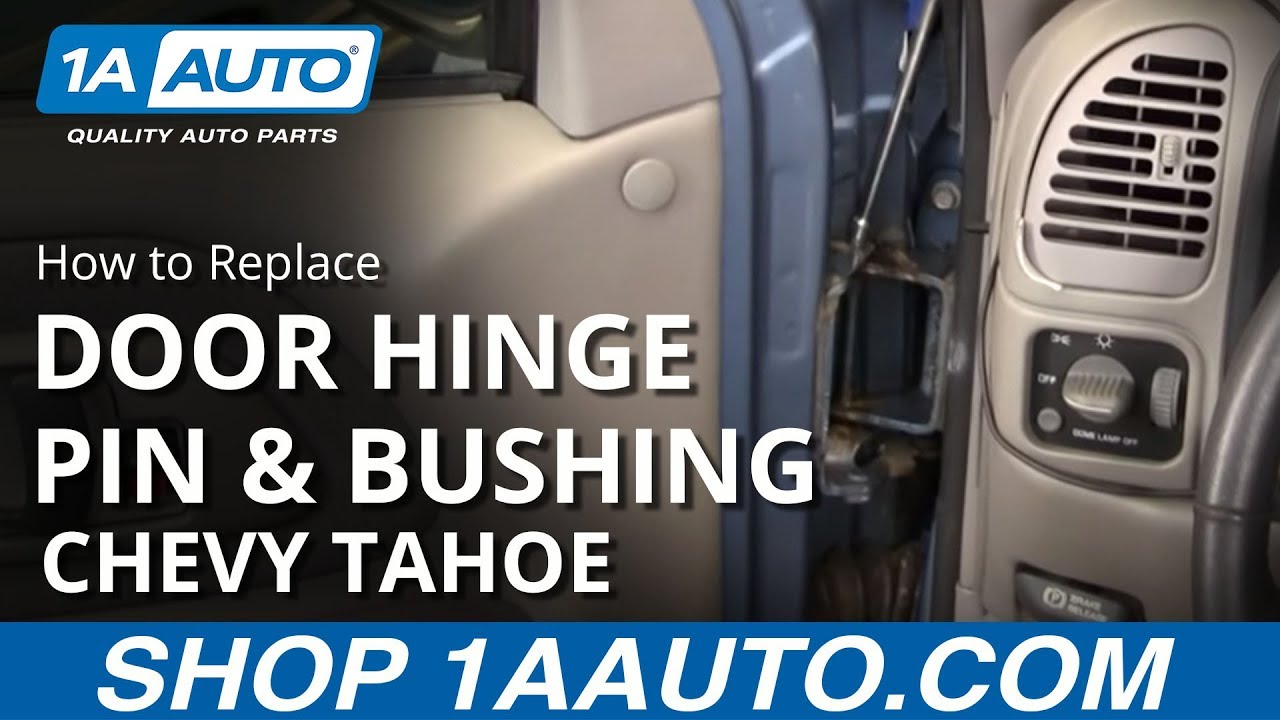 Replacing Car Tires, How To Replace Door Hinge Pin Bushing Kit 1995 1998 Chevy Tahoe, Replacing Car Tires