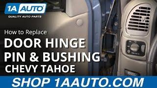 Car Door Hinge Pins Bushing Repair Set For Chevrolet Silverado 1500 Replacement
