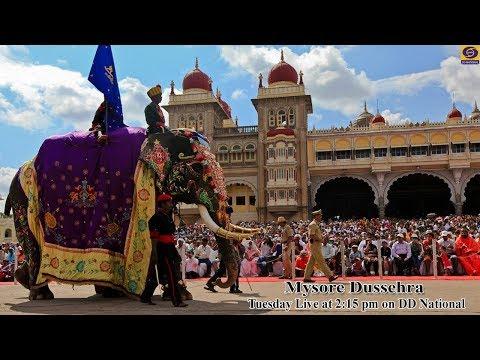 Mysore Dasara Procession - Jumbo Sawari