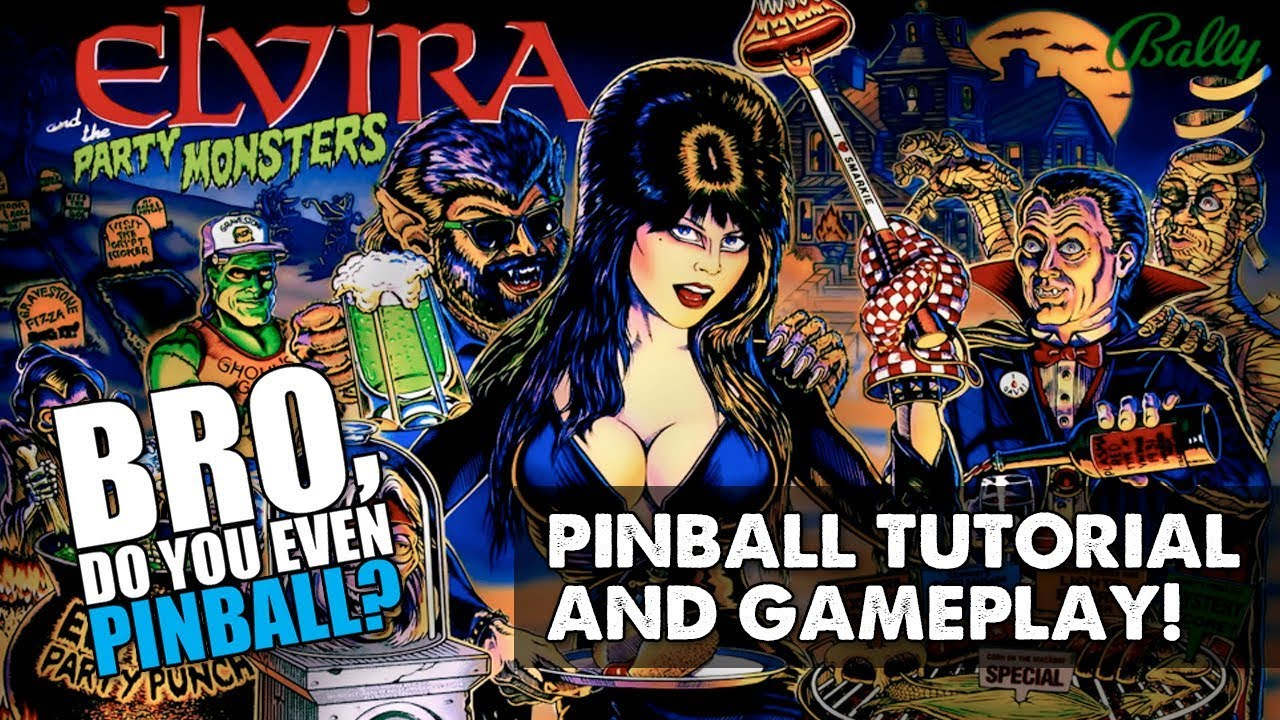 Elvira and the Party Monsters (Bally 70388a3edbc