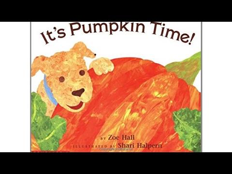 Its Pumpkin Time by Zoe Hall Audiobook Book /& Cassette Audio Cassette 1995 Paperback