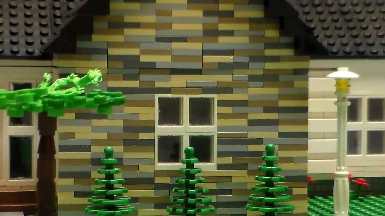 How To Build House With Legos