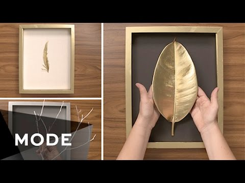 3 Diy Wall Art Ideas Glam It Yourself Glam Com