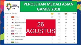 Download Video Klasemen Perolehan medali asian games 2018 - Indonesia Mantap di 5 besar MP3 3GP MP4