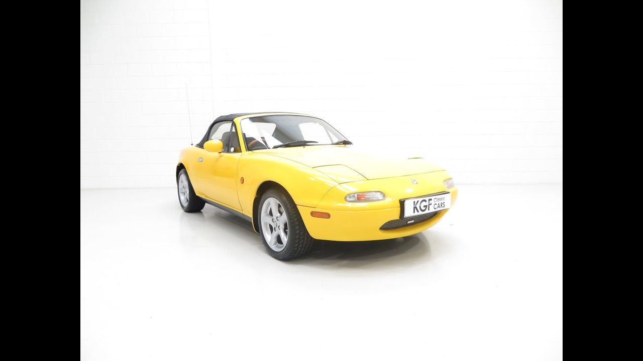 A Limited Edition UK Mk1 Mazda MX5 California as Featured in the James Mann  Book - SOLD!