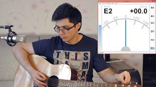 Ізі Гітара — Настройка гітари за 2,5 хв.