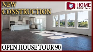 Open House Tour 90  - New Construction Home in Bloomingdale IL by North Mark Homes