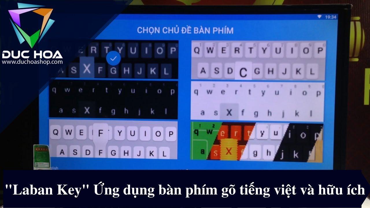 """""""Laban Key"""" Ứng dụng gõ tiếng việt và hưu ích cho Android TV box – duchoashop.com"""