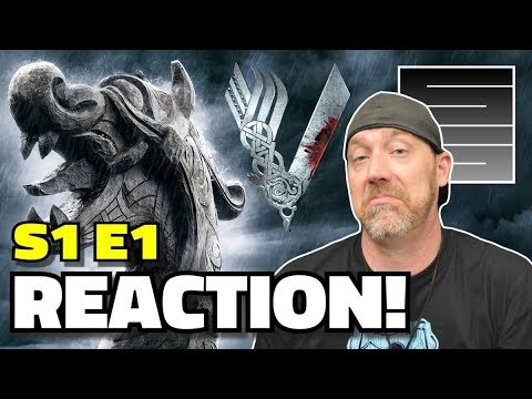 "Vikings Season 1 Episode 1 Reaction! - ""Rites Of Passage"" Premier"