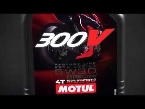 Motul 300 V Road Racing Oil poster