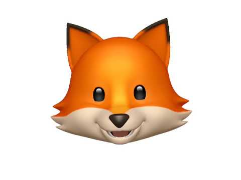 What does the fox say? - Animoji