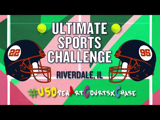 US Open Art Courts x Chase: Ultimate Sports Challenge  - Buy American