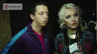 Backstage. Презентация клипа Маня и Алексей Дурнев.