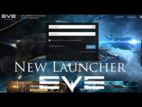 Eve Online: New Game Launcher | More Multi Account Support