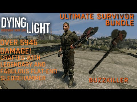 Dying Light Buzz Killer from Ultimate Survivor Bundle DLC (2015) with Urban Explorer Outfit |