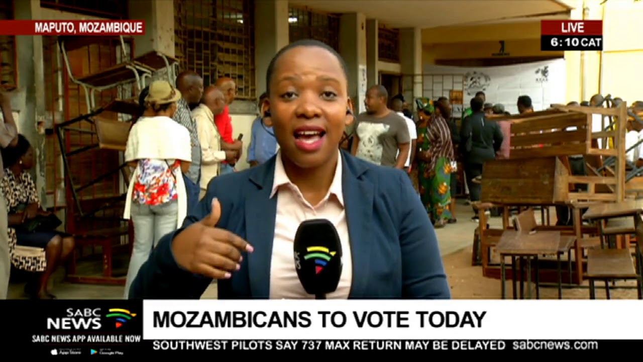 Mozambicans to vote today