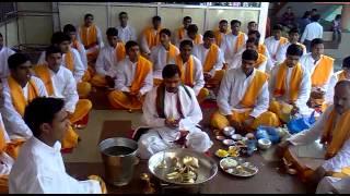 Shannti Paath in Laghu Rudra Abhishek at Mahakaleshwar Mandir 20022012