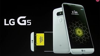LG G5 Live Event at Mobile World Congress (MWC)