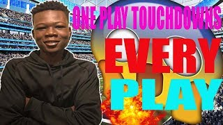 HOW TO SCORE EVERY PLAY!!!   ONE PLAY TOUCHDOWNS!   MADDEN 18 TIPS AND TRICKS