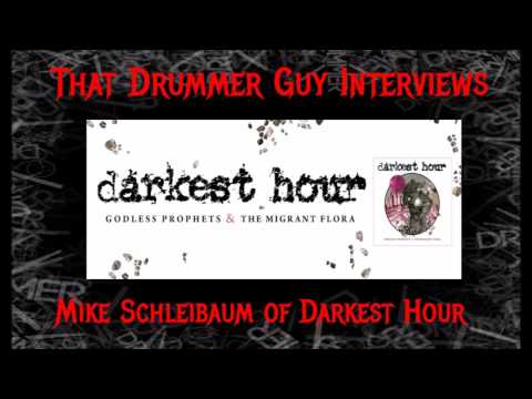 That Drummer Guy Interviews Mike Schleibaum of Darkest Hour