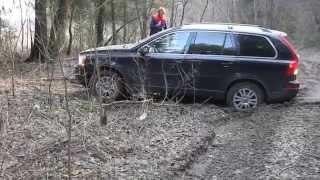 Volvo XC90. Поперечные колеи