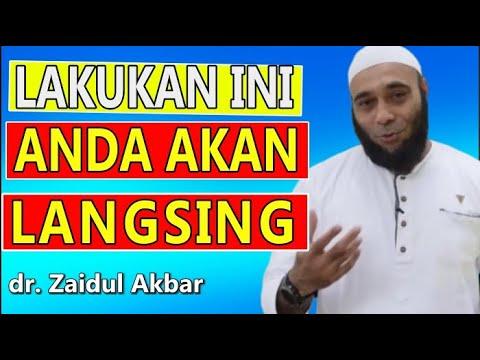 ❤️Cara Agar Tubuh Cepat Langsing Secara Cepat Dan Alami - Dr Zaidul Akbar