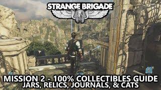 Strange Brigade - Collectibles Guide - Mission 2 - Jars, Relics, Journals, & Cats - Hidden Valley