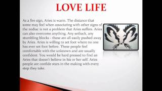 Aries zodiac horoscope