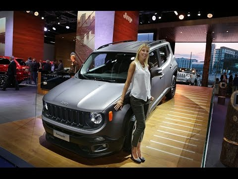 IAA 2015 - Jeep Brand - Renegade & Cherokee Night Eagle (ITA)