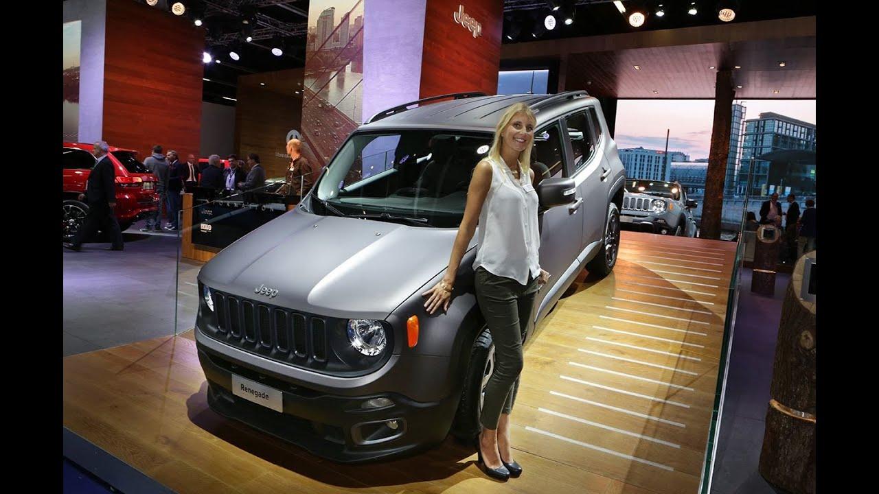 IAA 2015 - Jeep Brand - Renegade & Cherokee Night Eagle ...