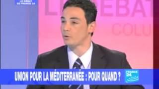 Intervention France 24 Union pour la méditerranée.flv