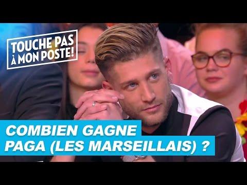 Paga (Les Marseillais) parle de son salaire dans TPMP